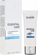 Parfumuri și produse cosmetice Cremă pentru corp - Babor Essential Care Lipid Balancing Cream