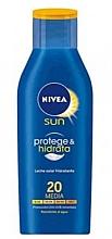 Parfumuri și produse cosmetice Loțiune protecție solară pentru corp - Nivea Sun Protect And Moisture Lotion SPF 20