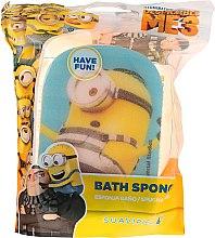 """Parfumuri și produse cosmetice Burete pentru baie """"Minions"""", albastră - Suavipiel Minions Bath Sponge"""