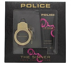 Parfumuri și produse cosmetice Police The Sinner Love The Excess Woman - Set (edt/30ml + b/lot/100ml)