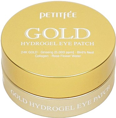 Patch-uri sub ochi - Petitfee&Koelf Gold Hydrogel Eye Patch