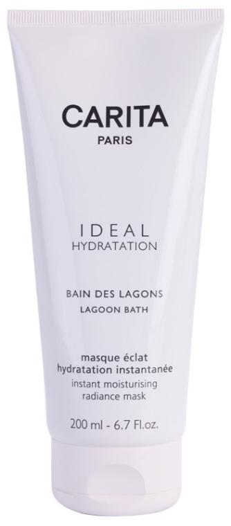 Masca hidratantă - Carita Ideal Hydration Lagoon Bath Instant Moisturising Radiance Mask — Imagine N2