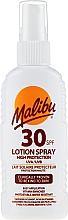 Parfumuri și produse cosmetice Loțiune-Spray de protecție solară pentru corp - Malibu Sun Lotion Spray High Protection Water Resistant SPF 30