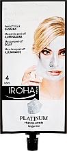 Parfumuri și produse cosmetice Mască de față - Iroha Nature Platinum Peel Off Mask Glowing 4 Uses