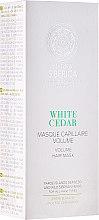 Parfumuri și produse cosmetice Mască de păr pentru volum - Natura Siberica Copenhagen White Cedar Volume Hair Mask