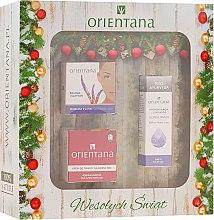 Parfumuri și produse cosmetice Set - Orientana (cr/30g+mask/50g+cr/40g)