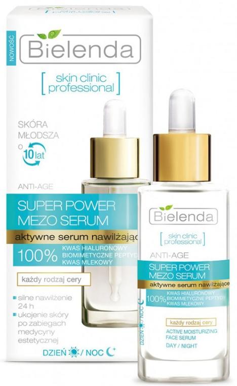 Ser activ hidratant de zi și de noapte - Bielenda Skin Clinic Professional Mezo Serum Anti-age