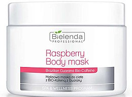Parfumuri și produse cosmetice Masca de corp - Bielenda Professional Raspberry With Guarana Bio-Caffeine Body Mask