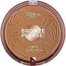 Parfumuri și produse cosmetice Bronzer pentru față - L'Oreal Paris La Terra Joli Bronze Bronzer