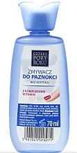 """Parfumuri și produse cosmetice Soluție pentru înlăturarea ojei """"Complex de vitamine"""" - Pharma CF Cztery Pory Roku"""