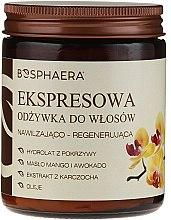 Balsam cu ulei de mango și avocado pentru păr - Bosphaera — Imagine N1