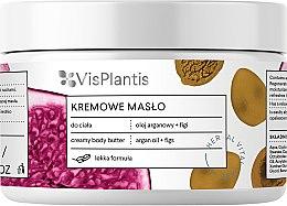 Parfumuri și produse cosmetice Ulei cremos de corp - Vis Plantis Herbal Vital Care Creamy Body Butter Argan Oil and Figs