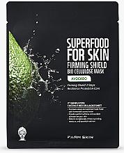 """Parfumuri și produse cosmetice Mască din bioceluloză """"Avocado"""" - Superfood For Skin Firming Shield Bio Cellulose Mask With Avocado"""