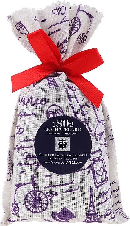 Pliculeț aromatic, lavandă - Le Chatelard 1802 Paris Lavander
