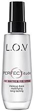 Parfumuri și produse cosmetice Спрей для лица - L.O.V PERFECTitude 3in1 Matte & Fix Spray