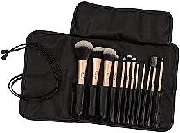 Parfumuri și produse cosmetice Set pensule pentru machiaj, 12 bucăți - Peggy Sage