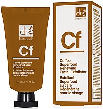 "Parfumuri și produse cosmetice Scrub facial ""Cafea"" - Dr. Botanicals Coffee Superfood Renewing Facial Exfoliator"