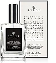 Parfumuri și produse cosmetice Spray tonifiant de noapte pentru față - Avant Hyaluronic Acid Age Fix Toning Night Concentrate Mist