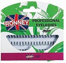 Parfumuri și produse cosmetice Set gene false, 10 mm - Ronney Professional Eyelashes 00033