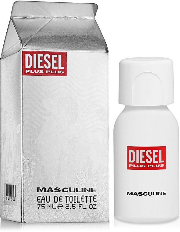 Diesel Plus Plus Masculine - Apă de toaletă