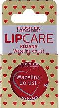 """Parfumuri și produse cosmetice Vaselina cosmetică pentru buze """"Trandafir"""" - Floslek Lip Care Cosmetic Lip Vaseline Rose"""