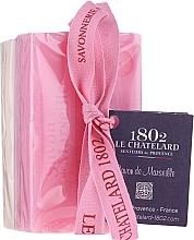 Parfumuri și produse cosmetice Set - Le Chatelard 1802 Rose & Jasmine (soap/100g + soap/100g)