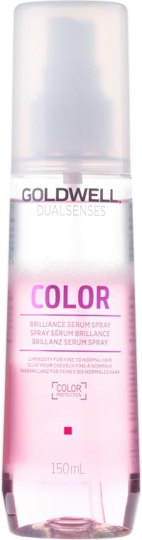 Ser-spray pentru părul vopsit, conferă strălucire - Goldwell Dualsenses Color Brilliance Serum Spray
