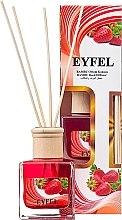 "Parfumuri și produse cosmetice Difuzor aromatic ""Căpșune"" - Eyfel Perfume Reed Diffuser Strawberry"