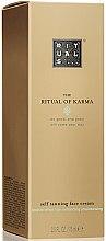 Parfumuri și produse cosmetice Cremă cu efect de bronz pentru față - Rituals The Ritual of Karma Self Tanning Face Cream