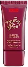 Parfumuri și produse cosmetice Iluminator - Pupa Sparkling Attitude Fluid Face Highlighter Radiant Effect