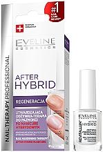 Parfumuri și produse cosmetice Tratament întăritor rapid pentru unghii - Eveline Cosmetics After Hybrid Manicure