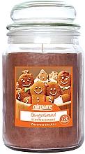 """Parfumuri și produse cosmetice Lumânare parfumată """"Gingerbread"""" - Airpure Jar Scented Candle Gingerbread"""