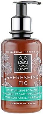 """Lapte hidratant pentru corp """"Smochină răcoritoare"""" - Apivita Refreshing Fig Body Milk"""
