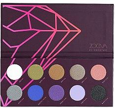 Parfumuri și produse cosmetice Paletă farduri de ochi - Zoeva Retro Future Eyeshadow Palette