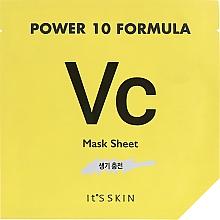 Parfumuri și produse cosmetice Mască din țesătură pentru față - It's Skin Power 10 Formula Mask Sheet VC