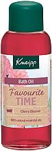 """Parfumuri și produse cosmetice Ulei de baie """"Timpul preferat""""  - Kneipp Favourite Time Cherry Blossom Bath Oil"""