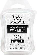 Parfumuri și produse cosmetice Ceară aromată - WoodWick Wax Melt Baby Powder