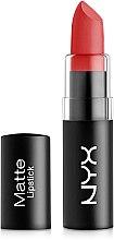 Parfumuri și produse cosmetice Ruj mat de buze - NYX Professional Makeup Matte Lipstick