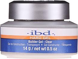 Parfumuri și produse cosmetice Gel de unghii, transparent - IBD Hard Gel Builder Gel Clear