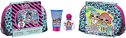 Parfumuri și produse cosmetice Air-Val International LOL Surprise XTL - Set (edt/50ml + sh/gel/100ml + bag)