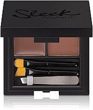 Parfumuri și produse cosmetice Set pentru îngrijirea sprâncenelor - Sleek MakeUP Brow Kit