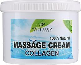 Духи, Парфюмерия, косметика Cremă de masaj pentru față și corp - Hristina Cosmetics Collagen Massage Cream