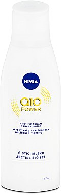 Laptele de curățare facială antirid - Nivea Visage Q10 Power Anti-Wrinkle Cleansing Milk — Imagine N1