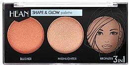 Parfumuri și produse cosmetice Paletă de machiaj - Hean Shape & Glow Palette