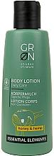 """Parfumuri și produse cosmetice Loțiune de corp """"Miere și cânepă"""" - GRN Essential Elements Honey & Hemp Body Lotion"""