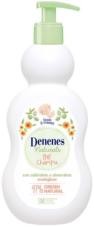 Șampon-gel de duș - Denenes Naturals Gel & Shampoo