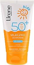 Parfumuri și produse cosmetice Lapte de protecție solară SPF 50+ - Lirene Kids Sun Protection Milk SPF 50+