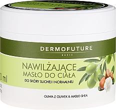 Parfumuri și produse cosmetice Unt hidratant pentru piele uscată și normală - DermoFuture