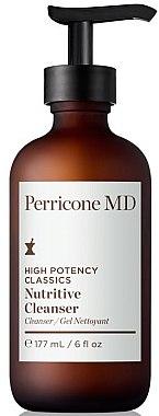 Gel de curățare pentru față - Perricone MD High Potency Classic Nutritive Cleanser — Imagine N1