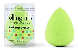 Parfumuri și produse cosmetice Beauty blender, verde - Rolling Hills Makeup Blender Green